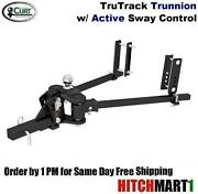 Curt 10k Trutrack Trunnion Weight Distribution Hitch Sys W Integrated Sway 17500
