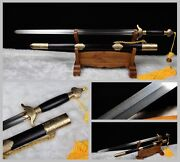 Boutique Chinese Soft Sword Taichi Wushu Sword Copper Fitting Pattern Steel