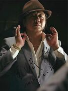 Choi Min Sik Signed Nameless Gangster 8x10 Photo - Exact Proof - Old Boy