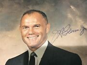 John Glenn Signed Autograph With Certificate Of Authenticity