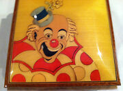 Reuge Music Clown Jewelry Music Box With 18nt Reuge Movement
