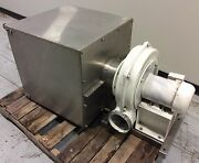 Chicago Blower Size 1200 High Pressure Centrifugal Blower W/ S/s Filter Housing
