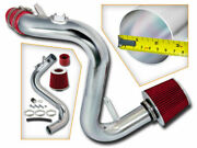 Bcp Red For 07-13 Mazdaspeed 3 2.3 2.3l Turbo Cold Air Racing Intake +filter