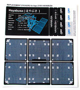 Custom And039die Cutand039 Stickers For Lego 21101 Haybusa Models Etc + Plaque Display