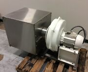 Chicago Blower Size 1500 High Pressure Centrifugal Blower W/ S/s Filter Housing