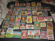 Lot 80 1986 Almost Complete Set Series 6 Garbage Pail Kids Gpk Authentic Cards