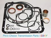 Completeexternal Seal Kit With Bushings---fits 1966 To 1996 C6 Transmissions