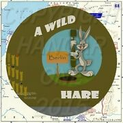 Wwii Bomber Nose Art On Canvas A Wild Hare