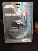 Marine Audio 2m / 6.6 Ft. Rca Cable, Mfg Ma-rca-2m-r, New In Package