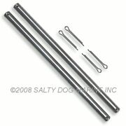 Hobie Cat 14 And 14 Turbo Rudder Pins Stainless Steel 2 Pack - New 248240