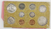 1957 United States Us Mint Set Silver Coins Uncirculated