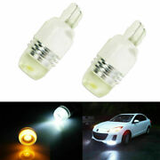 2x High Power 7443 Switchback White/amber Led Bulbs For Front Turn Signal Lights
