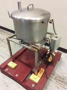 13-gal. Stainless Steel Holding Tank 18dia X 12deep W/ Level Float