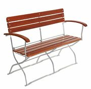 Folding Bistro Bench, Quality Made In Europe, Garden Bench