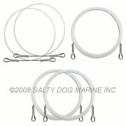 Hobie Cat 14 Wire Rigging Set White New - Save 10 359371