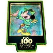 One Hundred Mickeys Pin Mm 018- Brave Little Tailor Going Home Le 3500 Disney