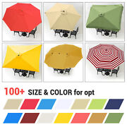 8and039/9and039/10and039/13and039 Umbrella Replacement Canopy 8 Rib Outdoor Patio Top Cover Only Opt