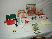 Plasticville Kits And Accessories Huge Assortment  Lot X-18
