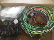 Ez Wiring 21 Circuit Color Wiring Harness Kit Chevy, Mopar, Ford, Hotrods.