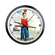 Daisy Red Ryder Bb Gun Rifle 1960and039s Art Licensed Retro Vintage Wall Clock 226