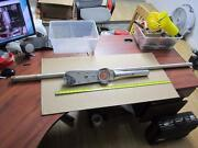 Snap On Tools Te2003l Us Made 1 Dr Torqometer W/ 5and039 Handle Mechanicand039s Tool
