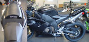 04 Kawasaki Zx10r Black Second Look Seat Covers / Logo Skins Embroidered 2004