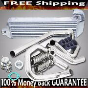 Intercooler+ Piping+silicone+clamp+bov Combo Fit 02-05 Civic Ep3 K20