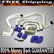 Intercooler Piping+silicone+clamps Fit 06-10 Mazda 3 2.3l 2260cc