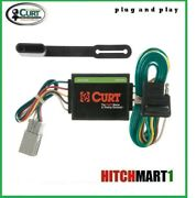 Curt Trailer Hitch Tow Wiring For 2003-2004 Honda Element Plug And Play  55336