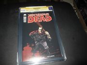 Rare Walking Dead 100 Extremely Rare 2nd Print Cgc 9.8 Signed By Robert Kirkman