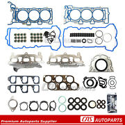 Full Gasket Set Fits 04-09 3.6l Cadillac Cts Srx Sts Buick Allure Rendezvous