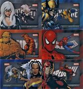 2014 Marvel Universe Series 2 Shadowbox Complete Chase Set 6 Cards S7-s12