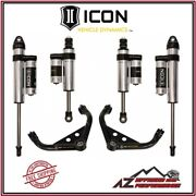 Icon 0-2.0 Stage 3 Suspension System For 01-10 Gm 2500 3500 Hd Trucks