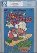 Uncle Scrooge 233 Pgx 9.9 Mint 1999 Barks With Scrooge Ironing Out His Money