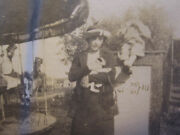 Antique American Carnival Carousel Horse C.w. Parker Stargazer Old Circus Photo