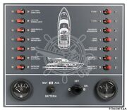 Osculati Power Yacht 14 Switch Automatic Thermo-magnetic Electric Control Panel