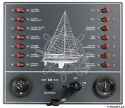 Osculati Sail Yacht 14 Switch Automatic Thermo-magnetic Electric Control Panel