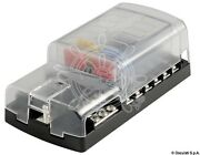 Osculati Polycarbonate 12 Fuse Holder Box For Resettable Fuses 165x85mm