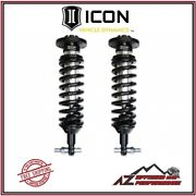 Icon Extended Travel Front Coilover Shock Kit For 2007-2019 Gm 1500 Trucks