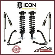 Icon 1-3 Lift Stage 2 Suspension System Large Taper For 14-18 Gm 1500 Truck