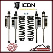 Icon 2.5 Suspension System Stage 3 For 2005-2016 Ford F250 F350 Super Duty