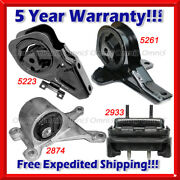 L714 For 99-05 Pontiac Grand Am Olds Alero 2.4 3.4l Auto Motor And Trans Mount 4pc