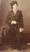 Antique Unusual Yarn Man Political Town Named After Abe Lincoln Il Photo