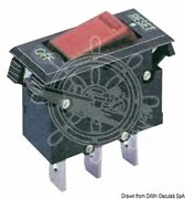 Osculati 12v 3a Resettable Thermal Toggle Switch