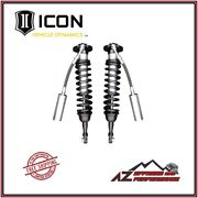 Icon Remote Reservoir Front Coil Over Shock Kit For 2007-2020 Toyota Tundra