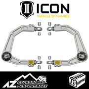Icon Billet Aluminum Delta Joint Upper Control Arm Kit For 07-20 Toyota Tundra