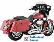 Vance And Hines Big Radius Exhaust Pipes System 2010-2016 Harley Touring Bagger