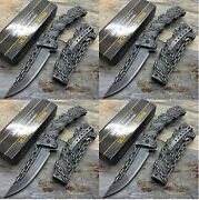 12x Tac Force Spring Assisted Stone Wash Chain Fantasy Survival Pocket Knife