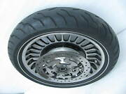 Harley 17 X 3.00 Knuckles Front Wheel And Tire Touring Ultra Classic 8888