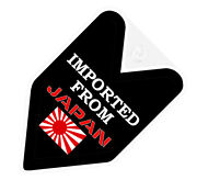 Jdm Wakaba Badge Imported From Japan Car Decal Flag Not Vinyl Sticker